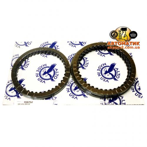 Set the friction discs U660E/F