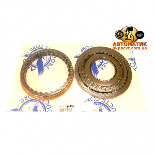 Set disc friction ZF5HP19, FL, FLA FWD / 2WD