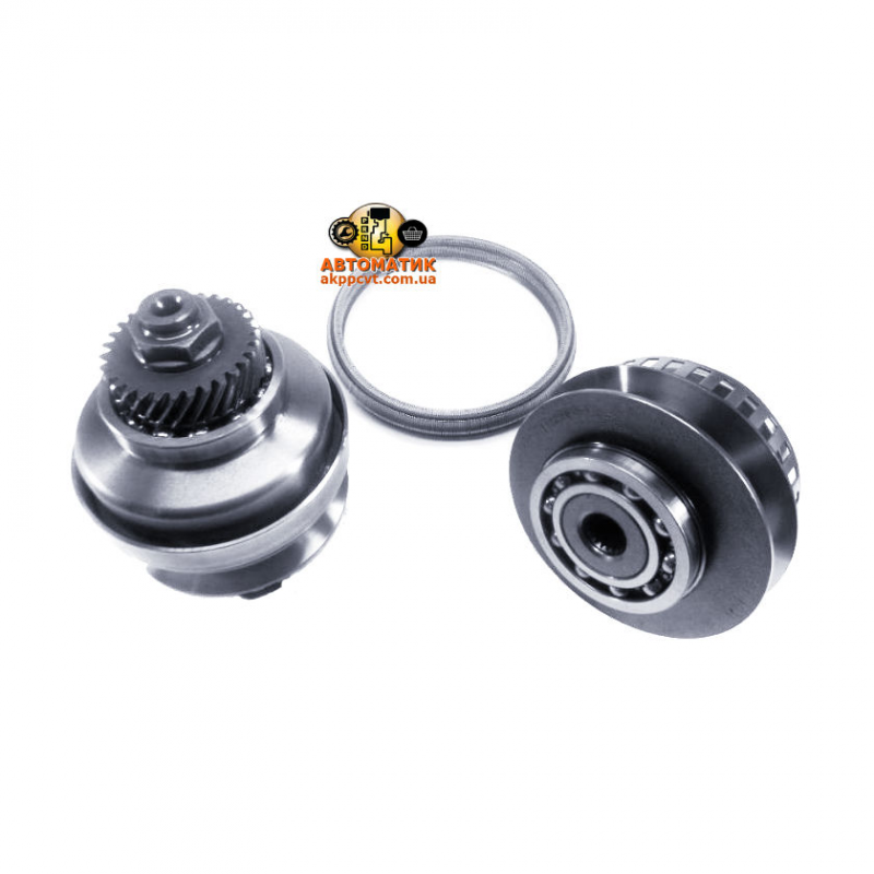 A set of pulleys and belt RE0F11A CVT JF015E